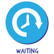 Waiting Wastes Icon